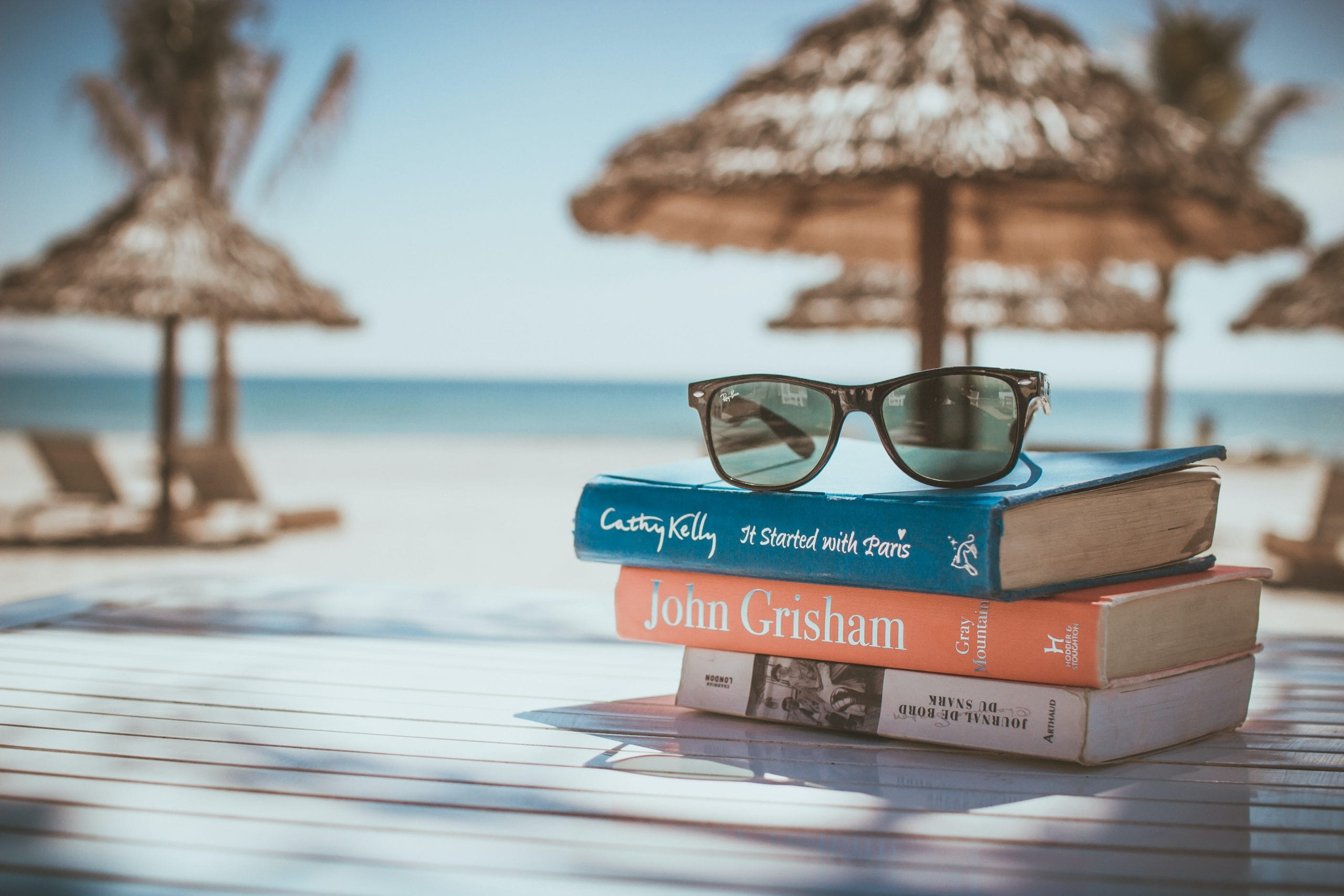 Summer Books (Photo by Link Hoang on Unsplash)