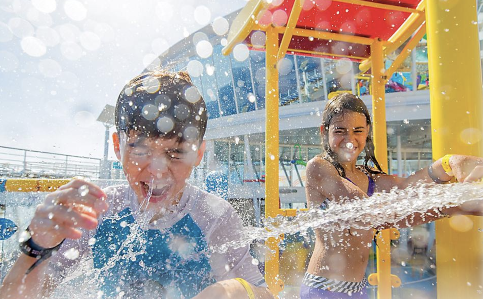 Splashaway Bay is one of the best cruise ship water parks for kids (Photo: Royal Caribbean Cruise Line)