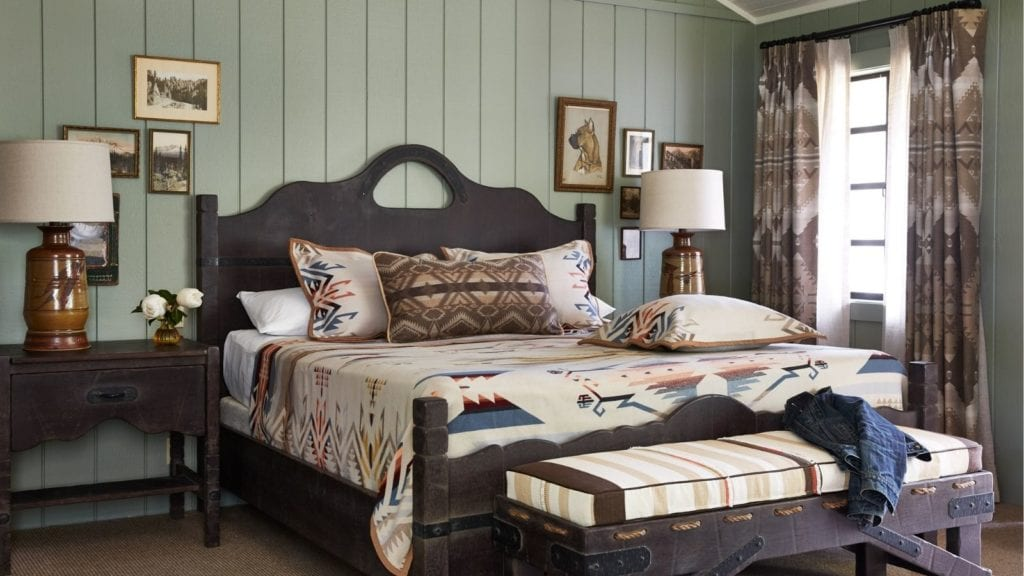 bed and room at Alisal Guest Ranch & Resort, a California dude ranch