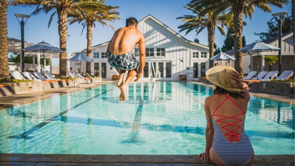 Napa Valley Hotels Carneros Resort & Spa Pool