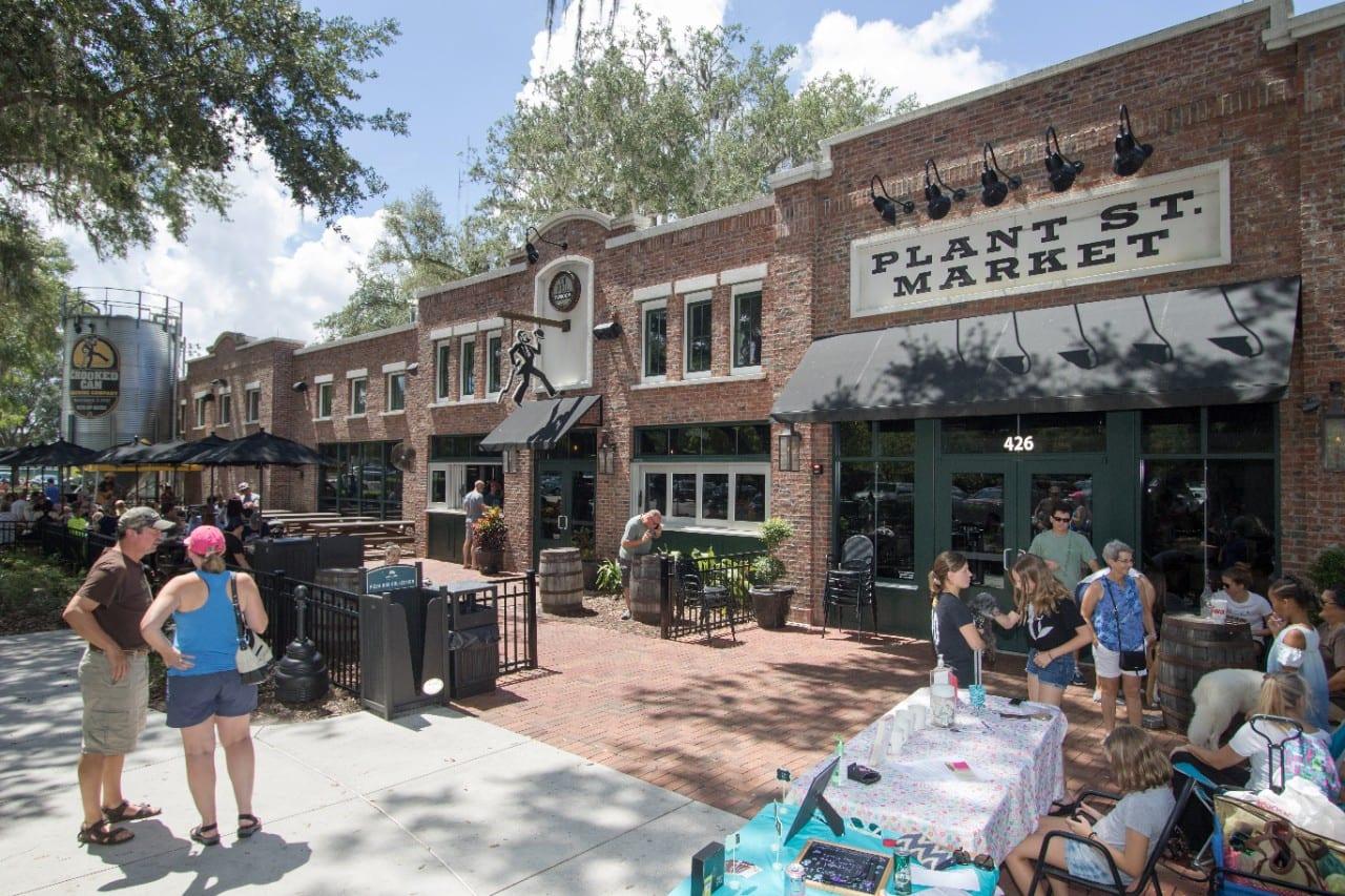 Plant Street Market Eating in Orlando