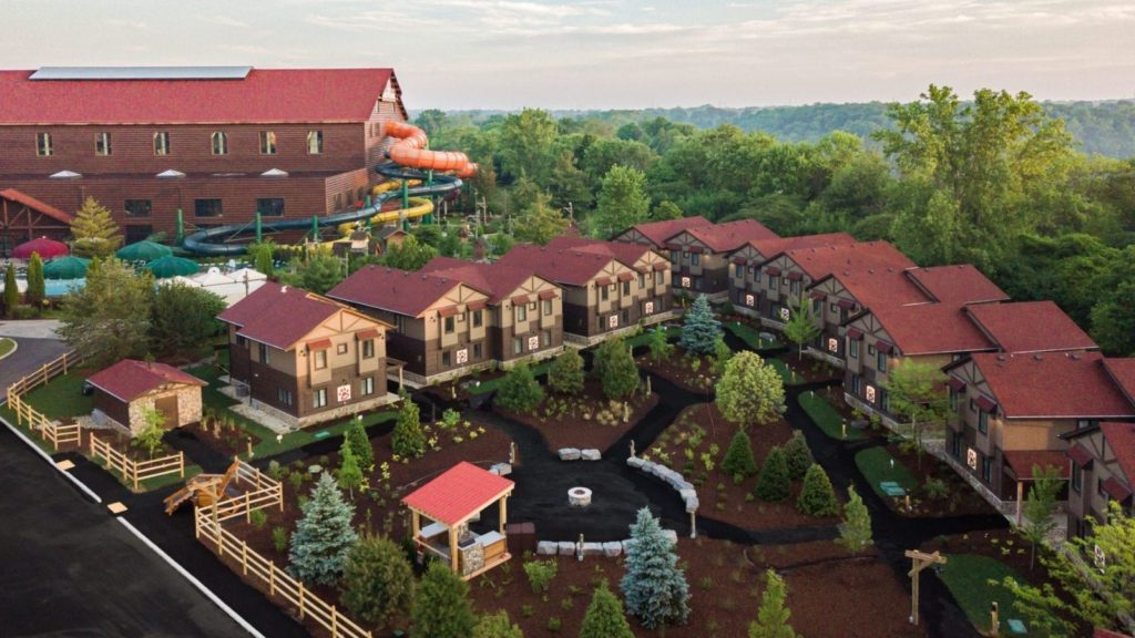 Cottages at Great Wolf Lodge Niagara Falls (Photo: Great Wolf Lodge)