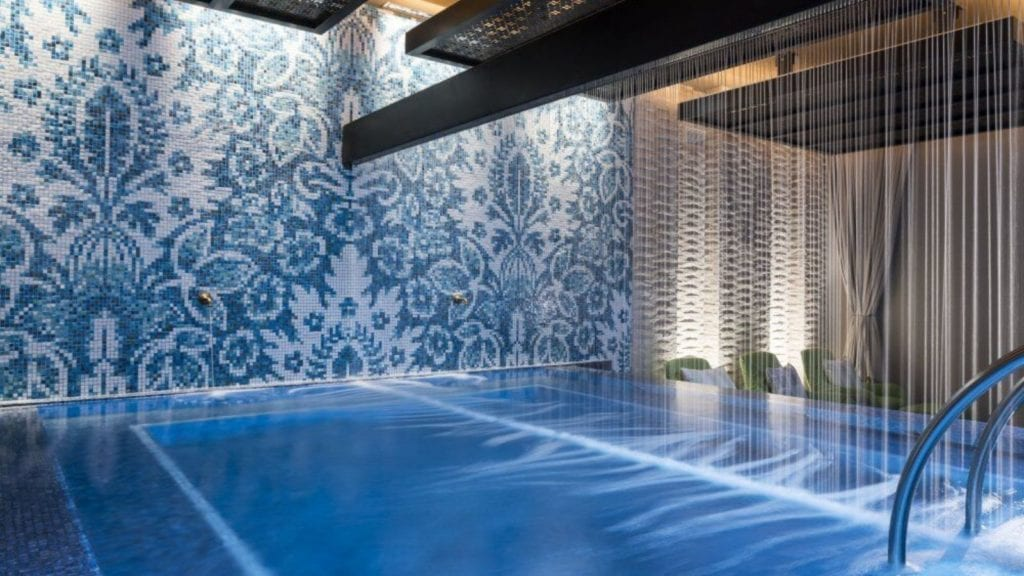 Kimpton Seafire Resort + Spa spa interior pool