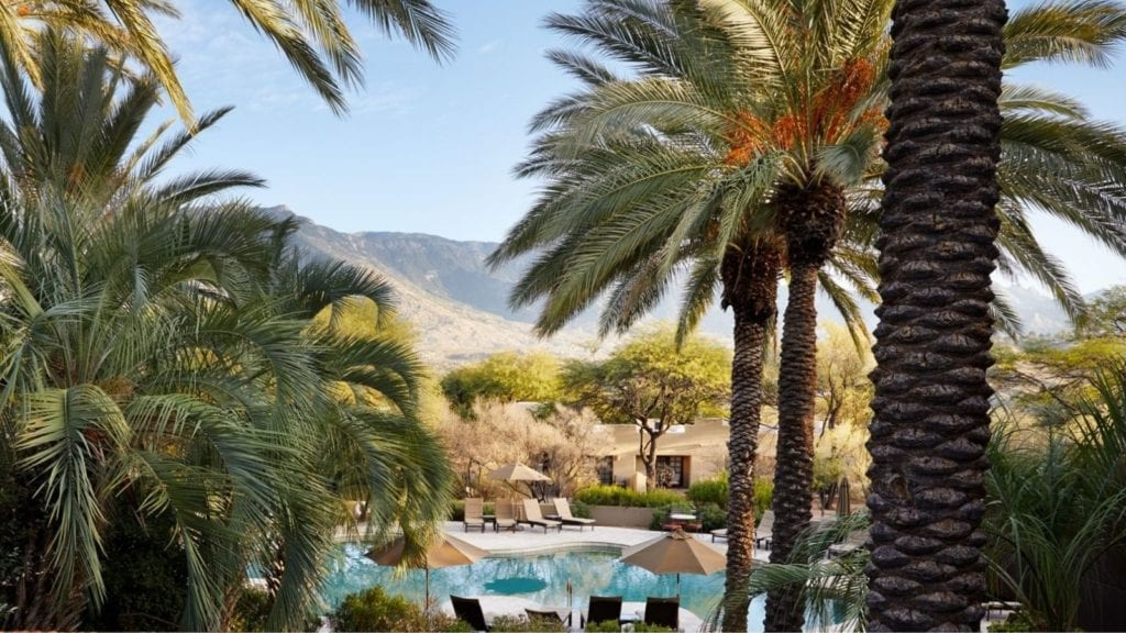 Spa pool at Miraval Arizona (Photo: Miraval Arizona)