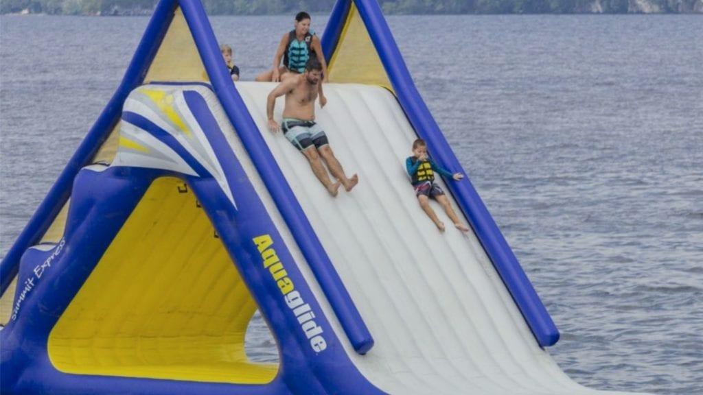 Water fun at Tyler Place Resort (Photo: Tyler Place Resort)