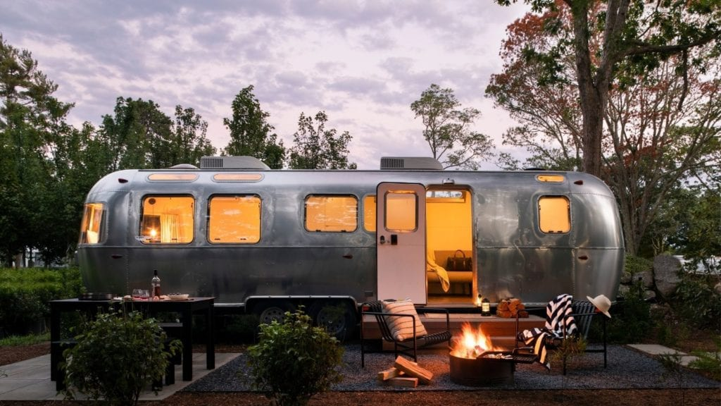 AutoCamp Falmouth family glamping Airstream