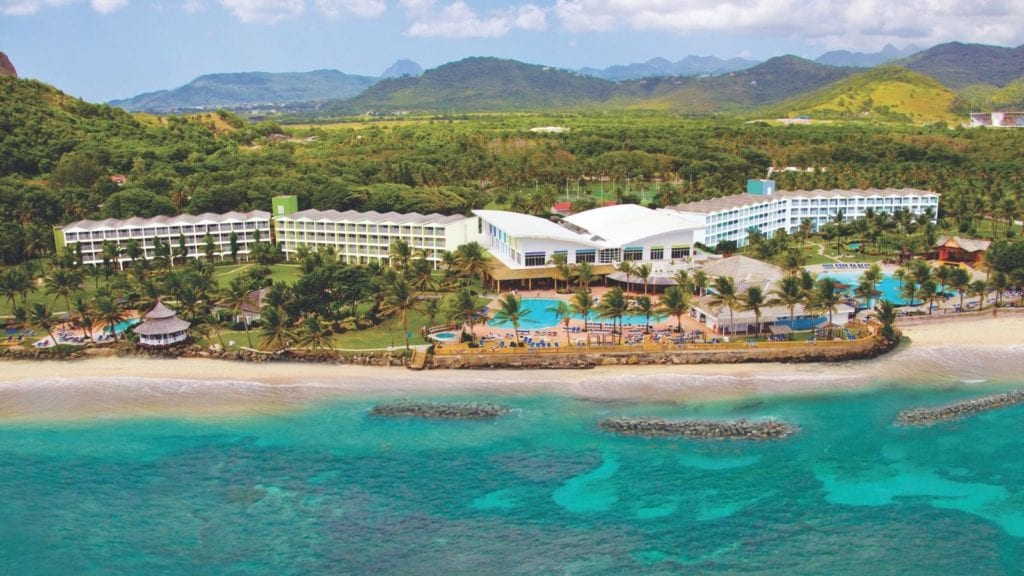 Aerial view of Coconut Bay all-inclusive resort (Photo: Coconut Bay)