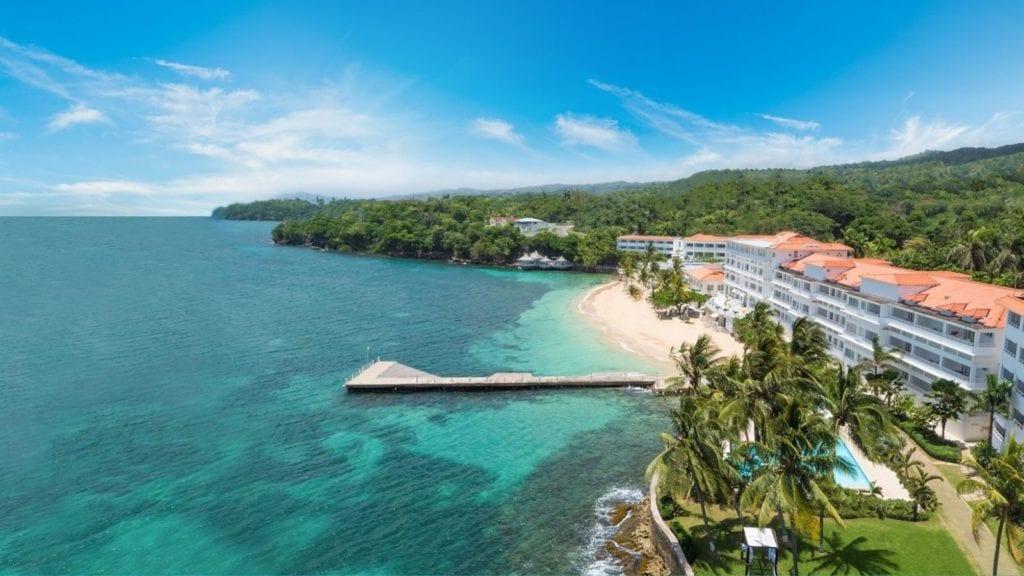 Beach and resort at Couples Tower Isle, Ocho Rios, Jamaica (Photo: Couples Tower Isle)