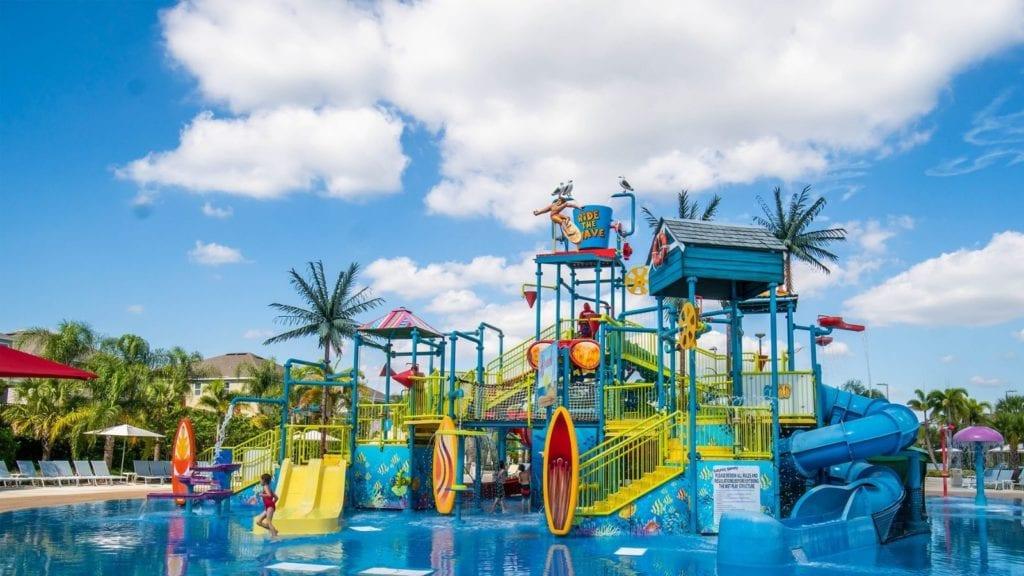 The water park at Encore Resort at Reunion (Photo: Encore Resort)