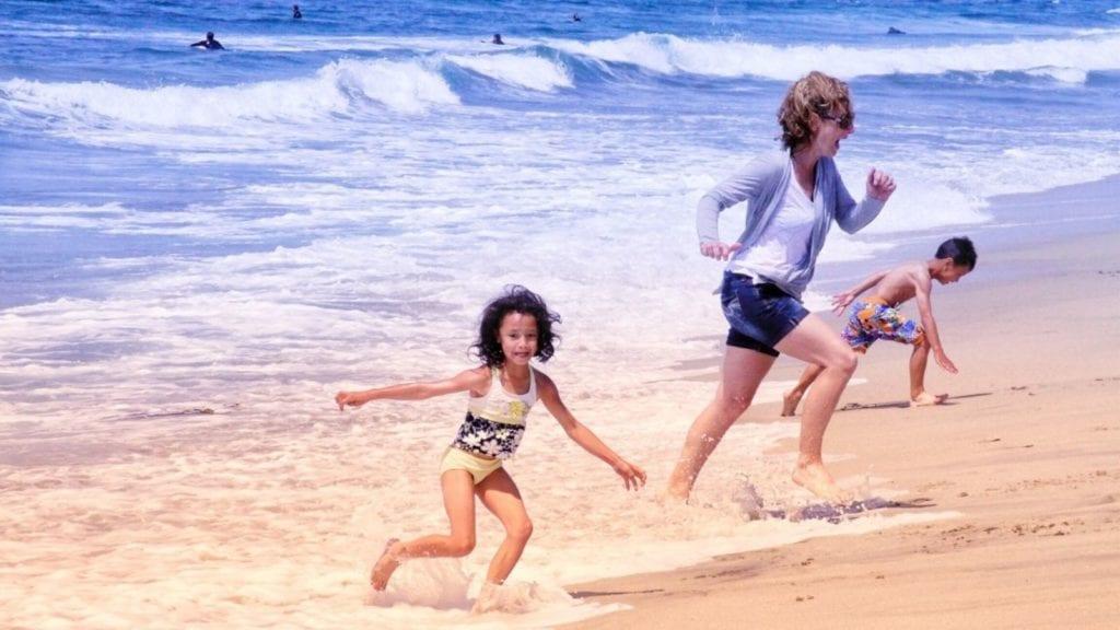 Family fun at the beach in San Diego (Photo: @guyrendon via Twenty20)