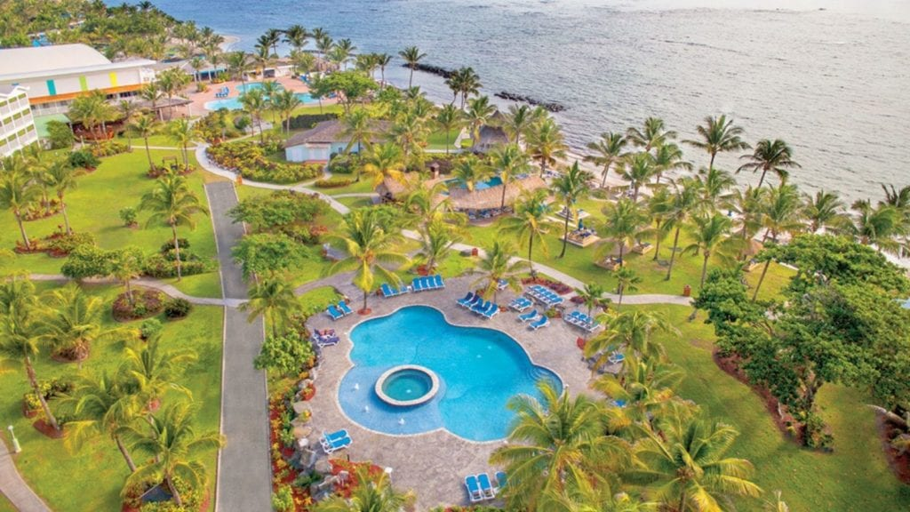Aerial view of Serenity at Coconut Bay, Vieux Fort, St. Lucia (Photo: Serenity at Coconut Bay)
