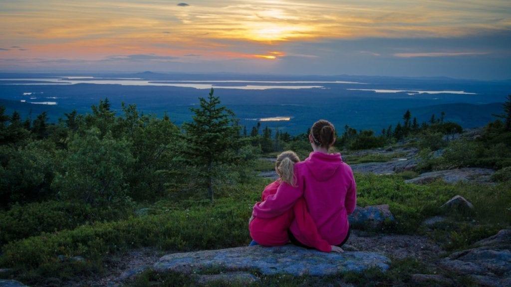 Sunset in Acadia National Park, Maine (Photo: @mikepricephotography via Twenty20)