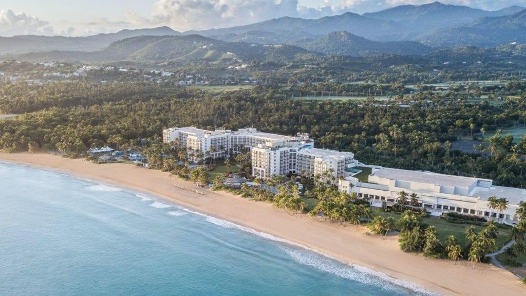 Aerial view of Wyndham Grand Rio Mar Puerto Rico Golf and Beach Resort (Photo: Wyndham Grand Rio Mar)