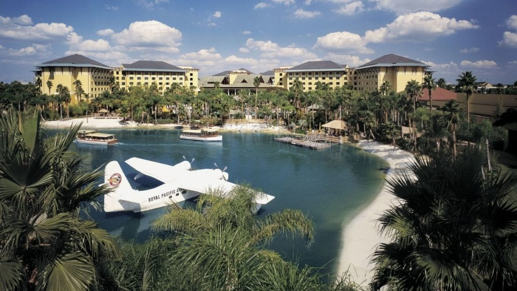 Loews Royal Pacific Resort is one of the best family resorts in the US (Photo: Universal Orlando Resort)