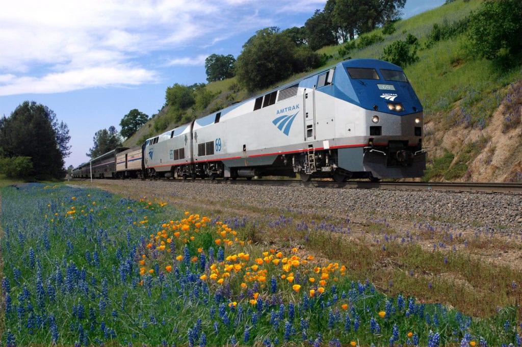 Amtrak's California Zephyr scenic train route