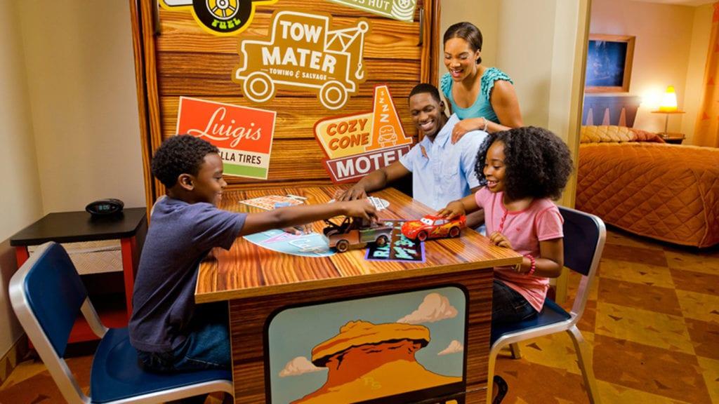 Cars Room at Disney's Art of Animation Resort