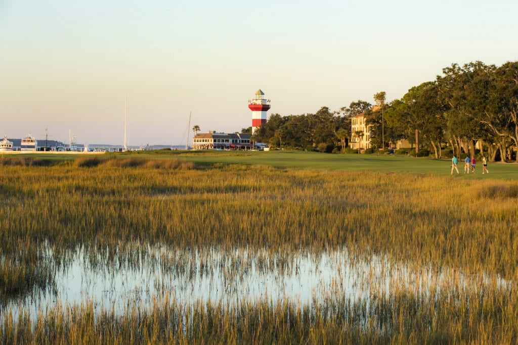 View of Hilton Head in South Carolina's Lowcountry