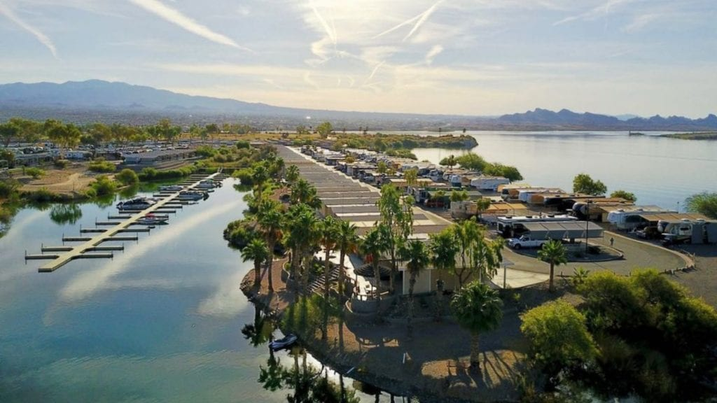 Aerial view of Islander RV Resort (Photo: Islander RV Resort)