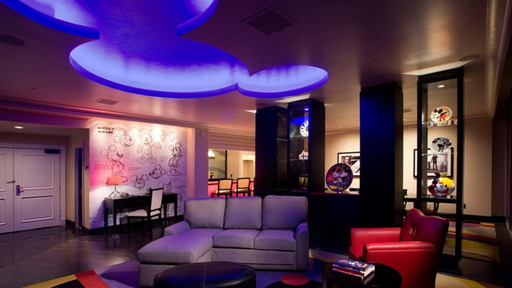 Mickey Mouse Penthouse at The Disneyland Hotel