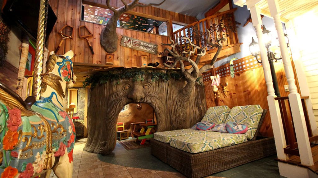 Treehouse at Adventure Suites