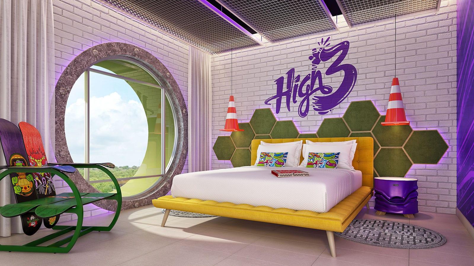 Turtle Lair Suite at Nickelodeon Hotels and Resorts Riviera Maya