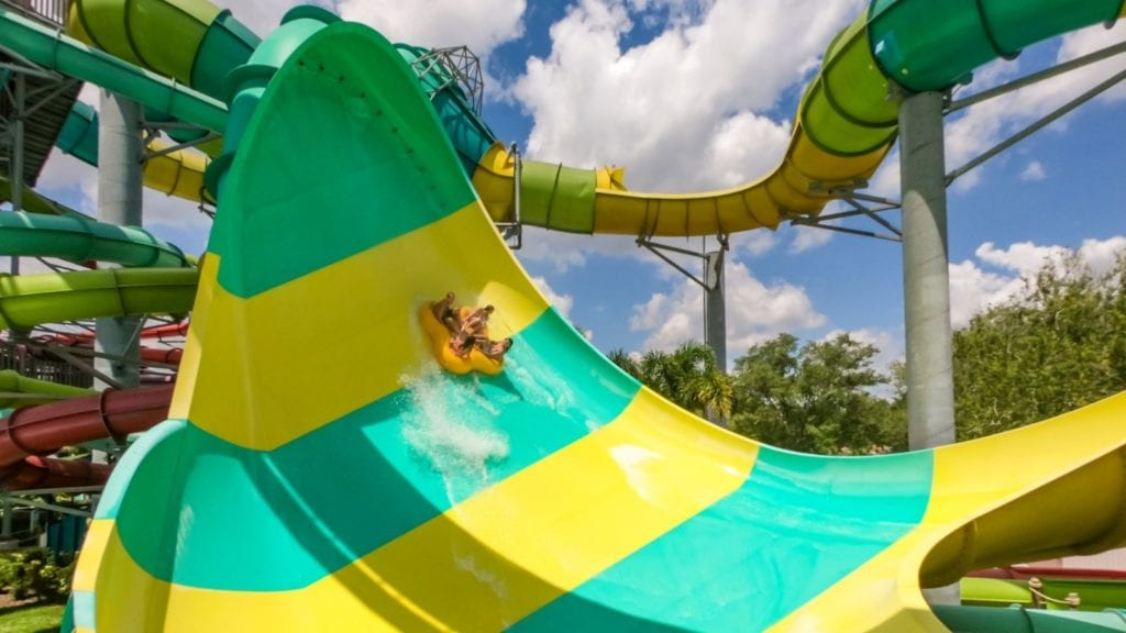 Adventure Island is one of the best Florida water parks for epic slides (Photo: Adventure Island)
