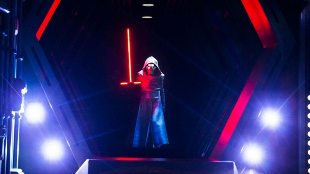 Kylo Ren makes an appearance in Star Wars: Rise of the Resistance (Photo: Walt Disney World)