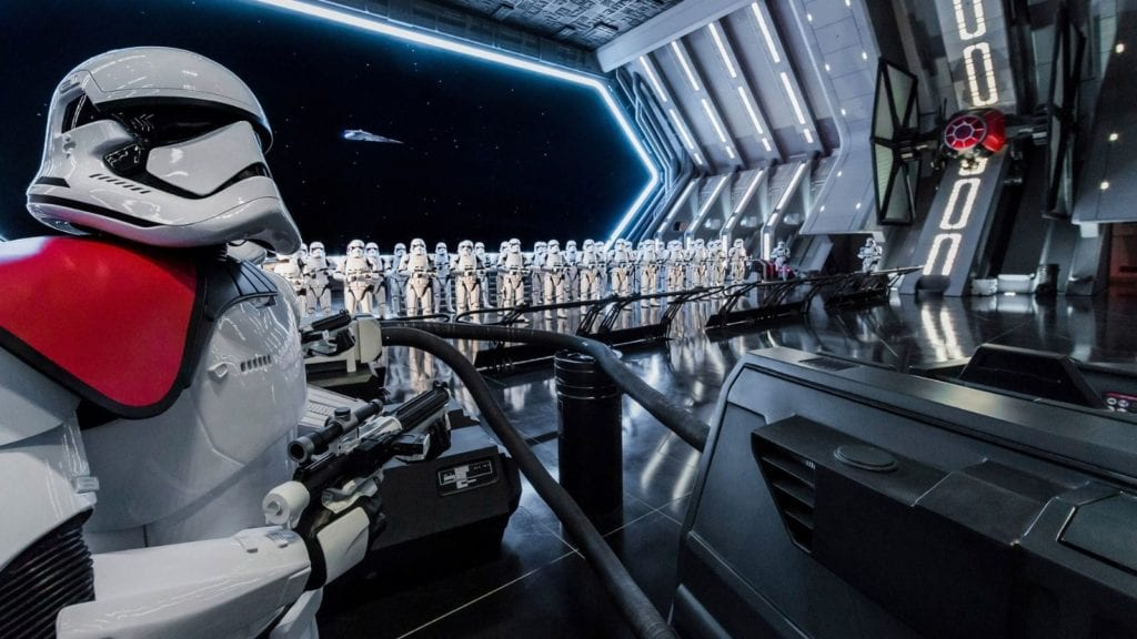 Stormtroopers mean trouble in for the Resistance at Star Wars: Galaxy's Edge in Orlando (Photo: Walt Disney World)