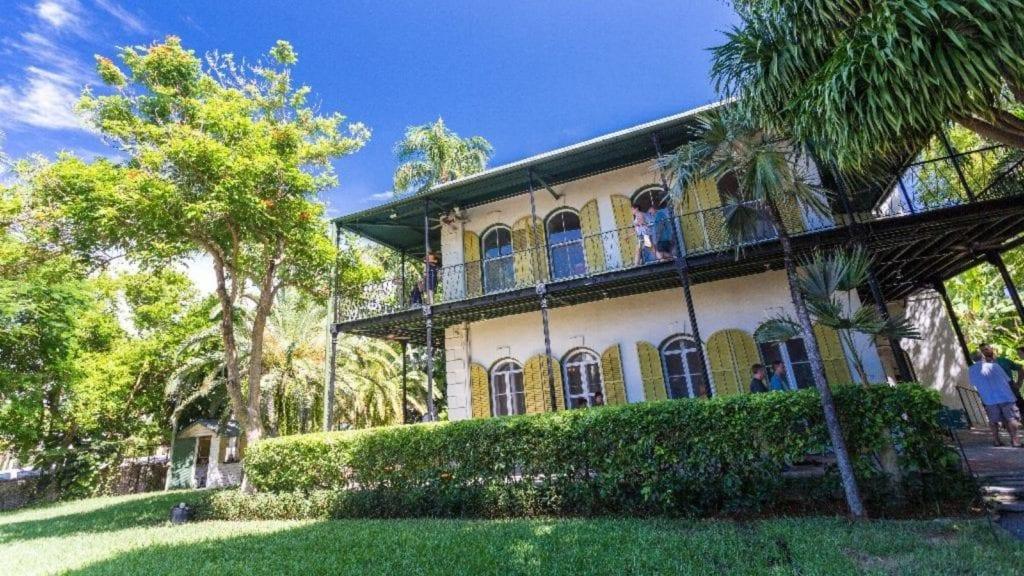 Hemingway Home in Key West, Florida (Photo: Laurence Norah / Florida Keys News Bureau)