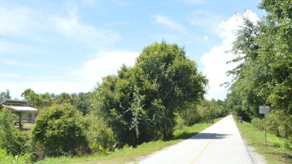 Biking along the Legacy Trail in one of the best things to do in Sarasota with kids (Photo: Eddie Kirsch / Visit Sarasota County)