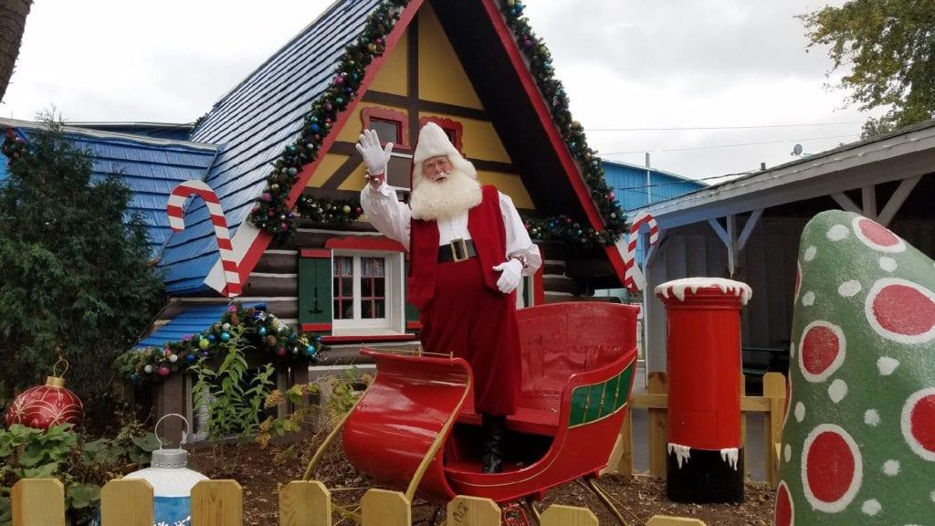 Santa's Village theme park, an amusement park for kids that's also toddler friendly