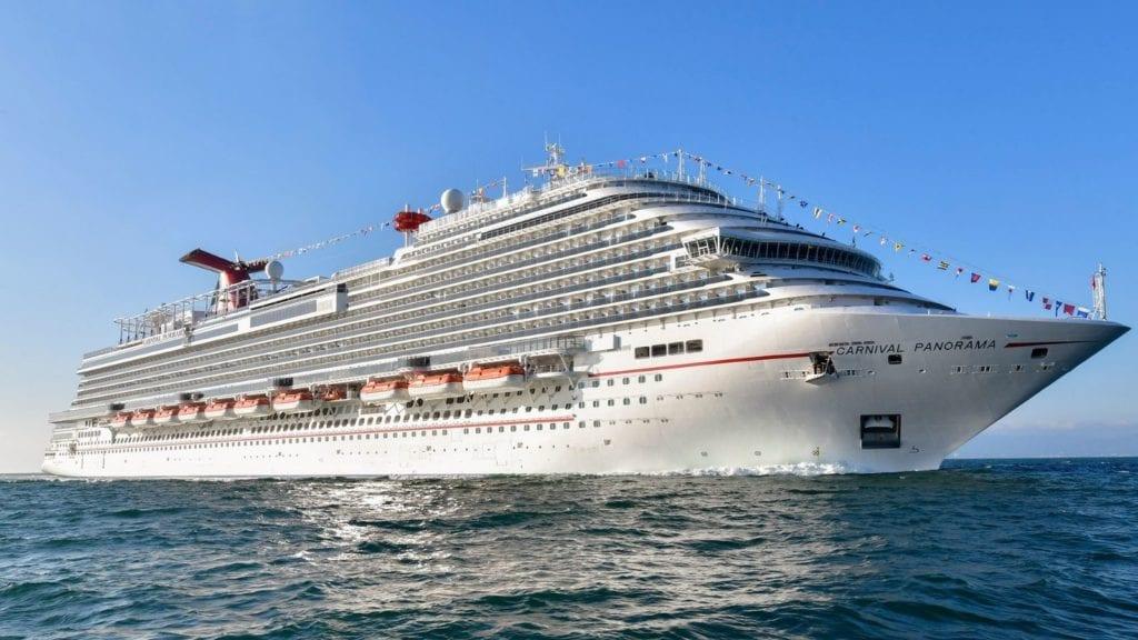 Carnival Panorama in Puerto Vallarta (Photo: Carnival Cruise Line)