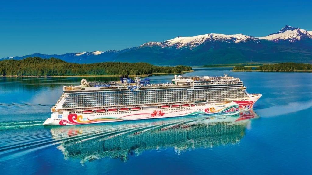 Norwegian Joy sailing in Alaska (Photo: Norwegian Cruise Line)