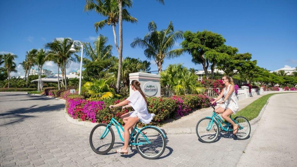 Riding Bikes at Ocean Club Resorts (Photo: Ocean Club Resorts)