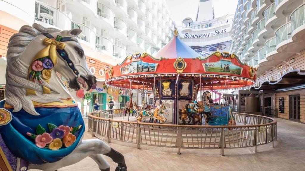 The carousel aboard Symphony of the Seas (Photo: Royal Caribbean)