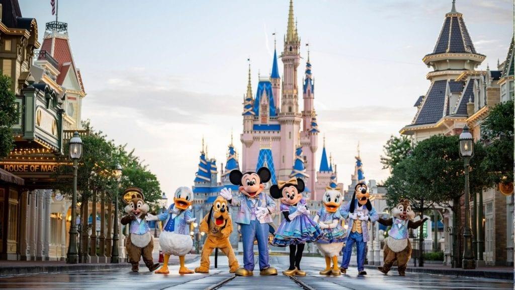 The World's Most Magical Celebration celebrates Walt Disney World's 50th anniversary (Photo: Matt Stroshane)