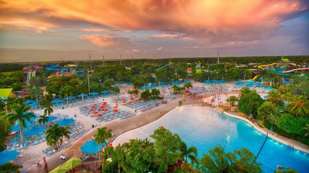Aerial view of Aquatica Orlando (Photo: SeaWorld Parks and Entertainment)