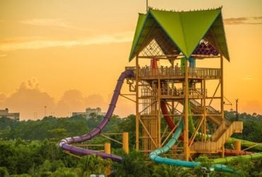 Giant water slide at Aquatica Orlando (Photo: SeaWorld Parks and Entertainment)