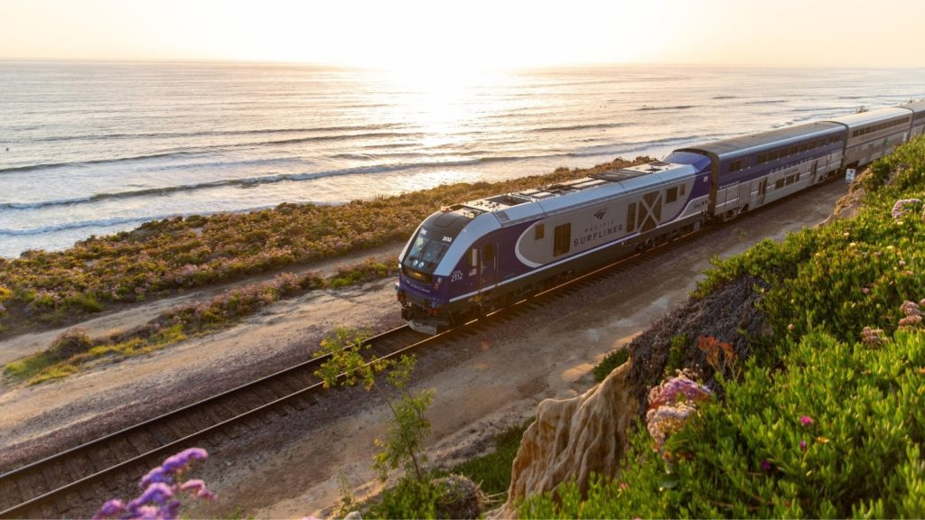 The Pacific Surfliner is one of the best Amtrak vacations (Photo: Amtrak)