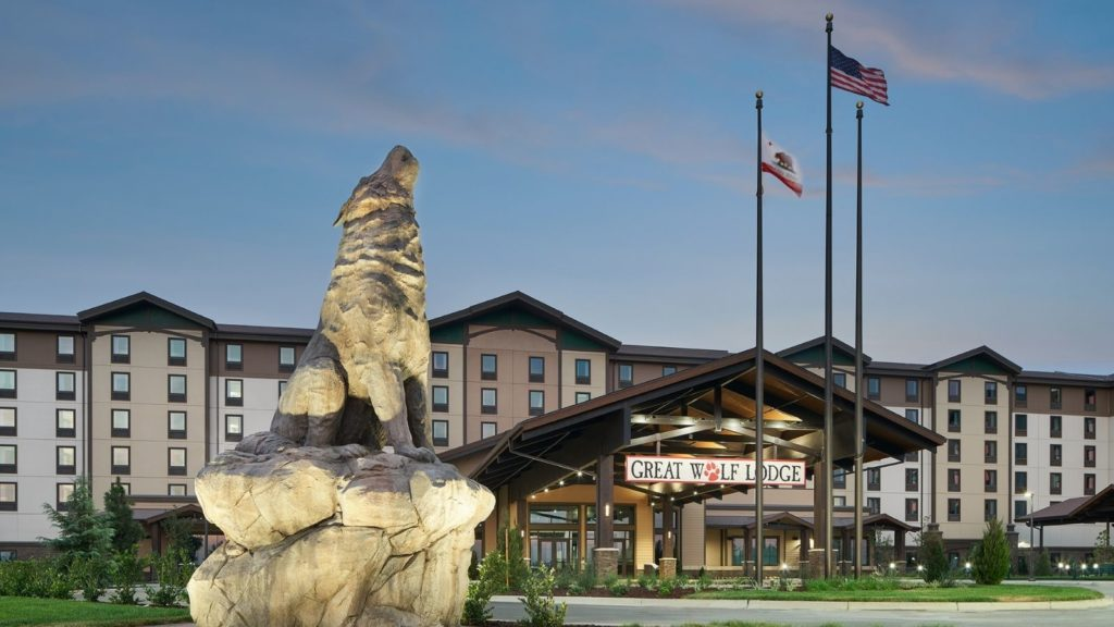 Exterior view of Great Wolf Lodge's Northern California location (Photo: Great Wolf Lodge Resorts)