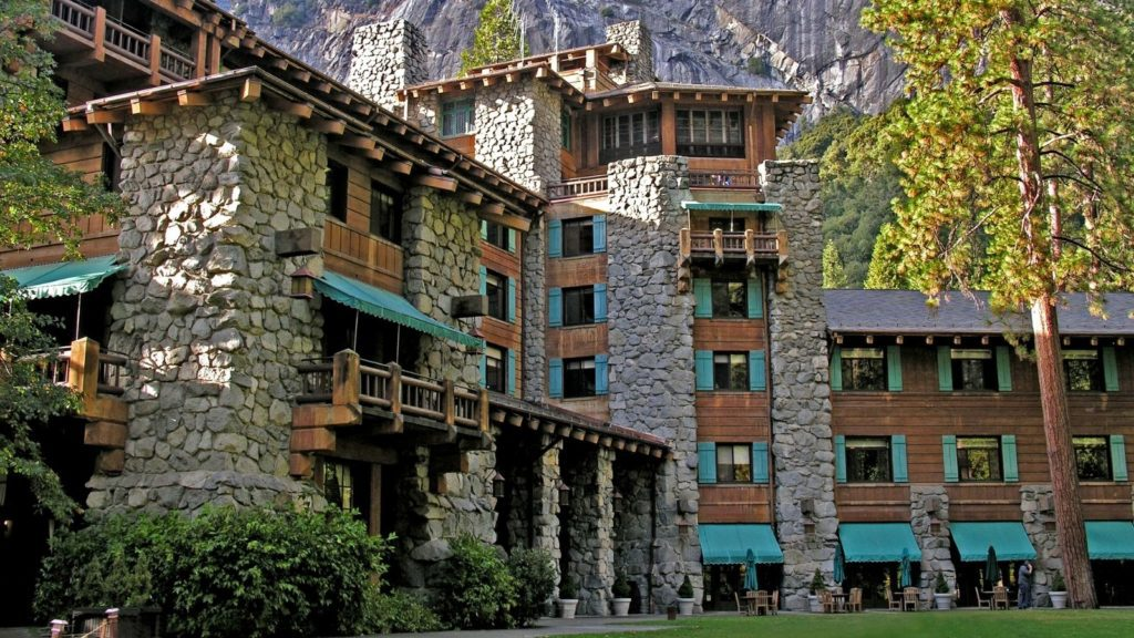 Exterior view of the Ahwahnee Hotel in Yosemite National Park (Photo: NPS:Aramark)