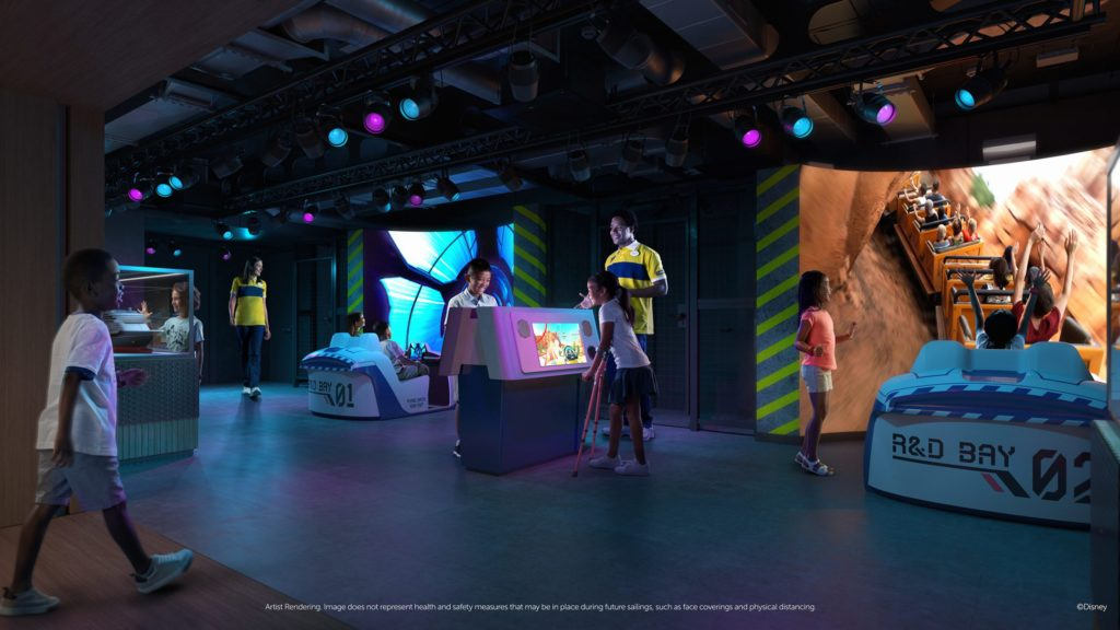 Walt Disney Imagineering Lab is a first-of-its-kind opportunity for kids ages 3 to 12 to discover the secrets of world-renowned Disney Imagineers — the creative masterminds behind Disney theme parks, resorts and cruise ships — with hands-on activities and inventive experiments. (Disney)