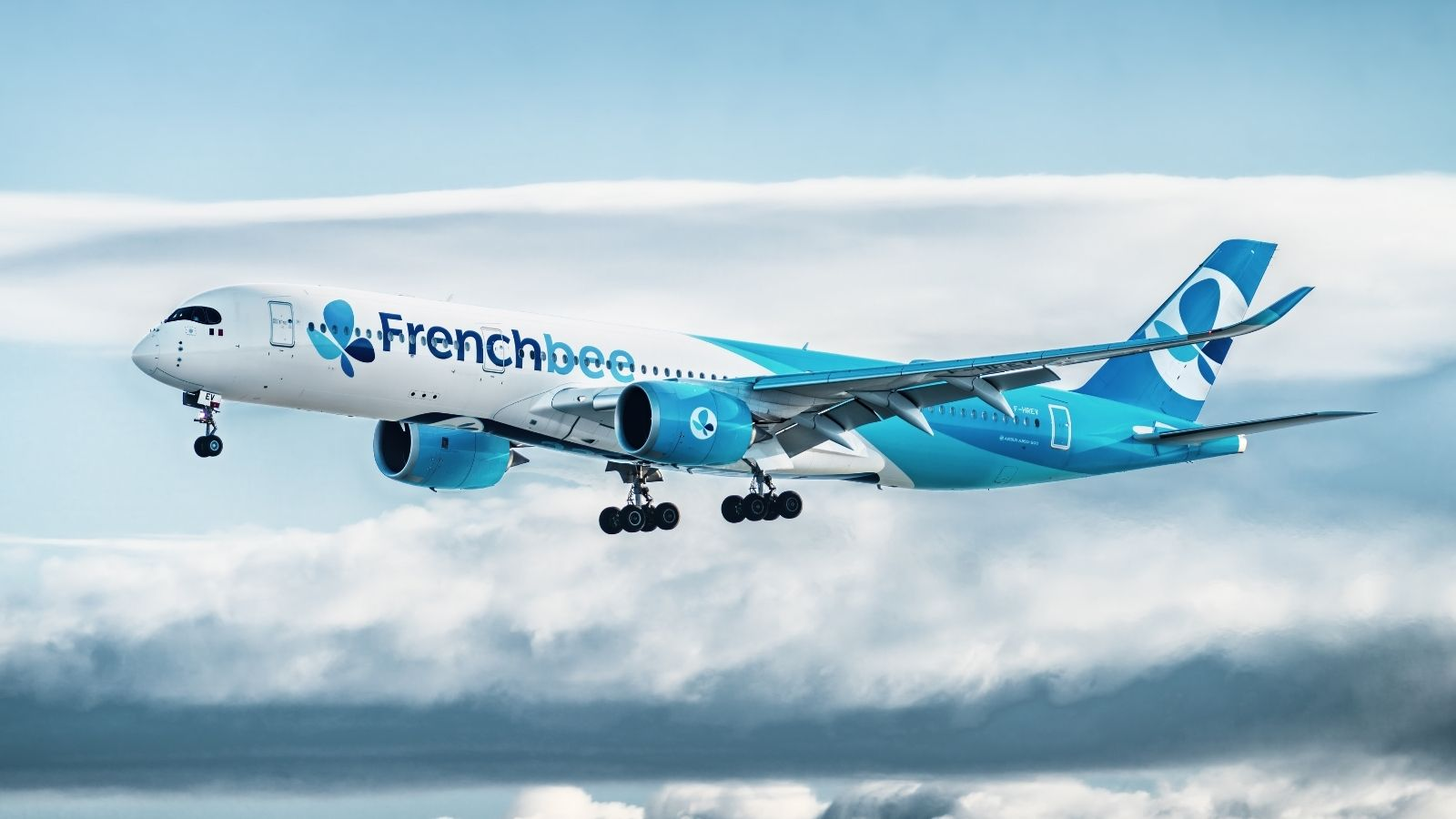 Frech bee airplane exterior view (Photo: French bee)