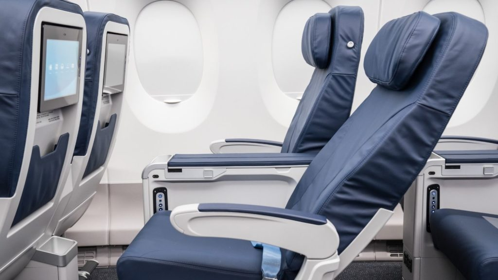 French bee premium cabin seats (Photo: French bee)