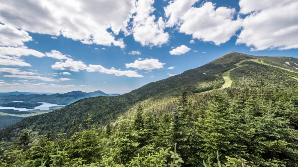 Whiteface Mountain near Lake Placid, New York, an ideal spot for family vacations